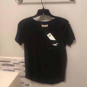 Hollister black t shirt